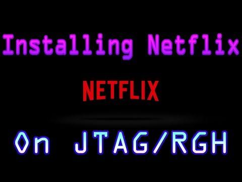 Netflix on Xbox JTAGRGH Without Xbox Live