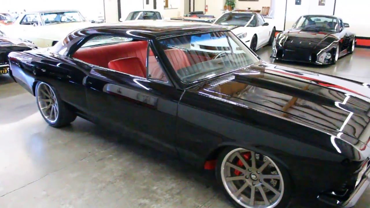 112 Auto Sales >> 1966 Chevrolet Chevelle Pro Touring Restomod GT Auto Lounge - YouTube