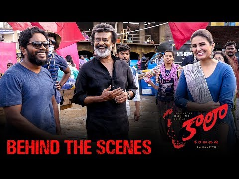 Kaala (Telugu) - Behind The Scenes featuring Maa Veedhula Song | Rajinikanth | Pa Ranjith