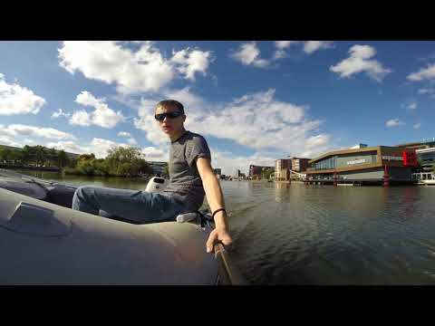 Sunny Day Day On The Brayford Pool Lincoln Uk