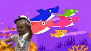 BABY SHARK на русском   АКУЛЕНОК Baby Shark Dance   Songs for children   Animal Songs