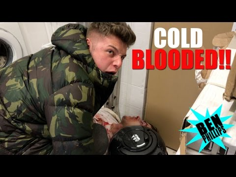 Thumbnail: We found a dead body in our freezer! PRANK!