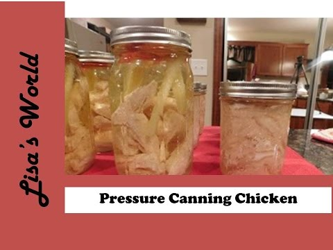 How To Pressure Can Chicken For Nuggets And Shredded For Chicken Salad