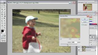 Photoshop Tip - How to blur the background of an image while leaving the subject in sharp focus