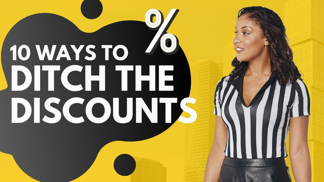 10 Ways to Ditch the Discounts - Promotional Strategies That Actually Work