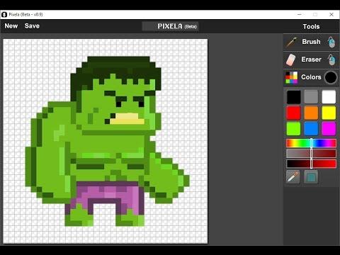 Como crear Pixel Art Sprites para tus juegos | Pixela - YouTube