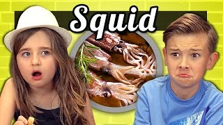 KIDS vs. FOOD #12 - SQUID