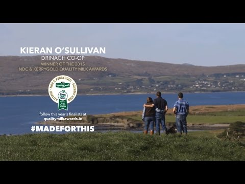 O'Sullivan Family | 2015 Winners of NDC & Kerrygold Quality Milk Awards | #MadeForThis