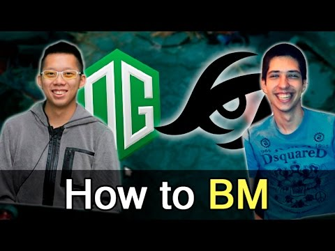 OG vs Secret — How to BM Shanghai Major Dota 2