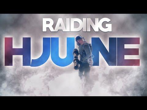 Raiding hJune's New TRIPLE Bunker ONLINE   Rust