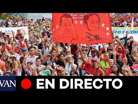 DIRECTO CARACAS | Seguidores de Nicolás Maduro rodean el Parlamento de Venezuela