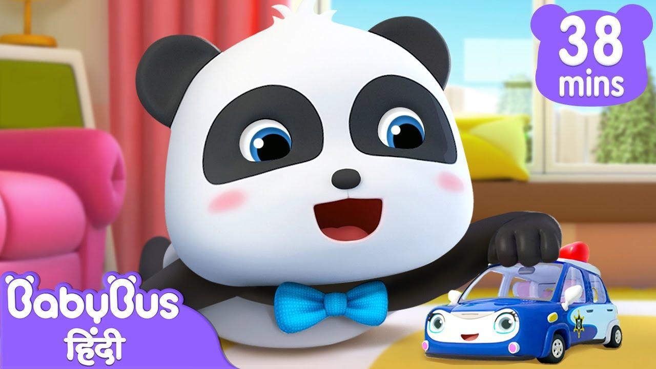 Toy Kaar Doodal Gaana   रंग पहचानो   हिन्दी राइम   Hindi Rhymes for Children   BabyBus Hindi
