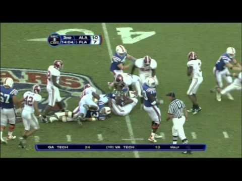 2006 #5 Florida Gators vs. Alabama Crimson Tide
