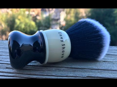 Envy Shave -  Nathan Clark 8 Ball Brush & Citrus Root Soap Test