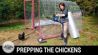 Will This Insulation Work To Winterize Our Mobile Chicken Coop? (...and Announcements!)