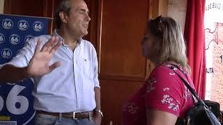 El intendente de Soriano Agustín Bascou renunció al Partido Nacional