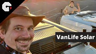 VanLife Solar Upgrades w/ Glytch
