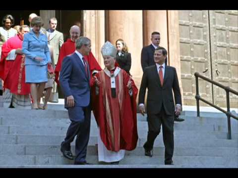 the jesuits out in the open. Overt world control