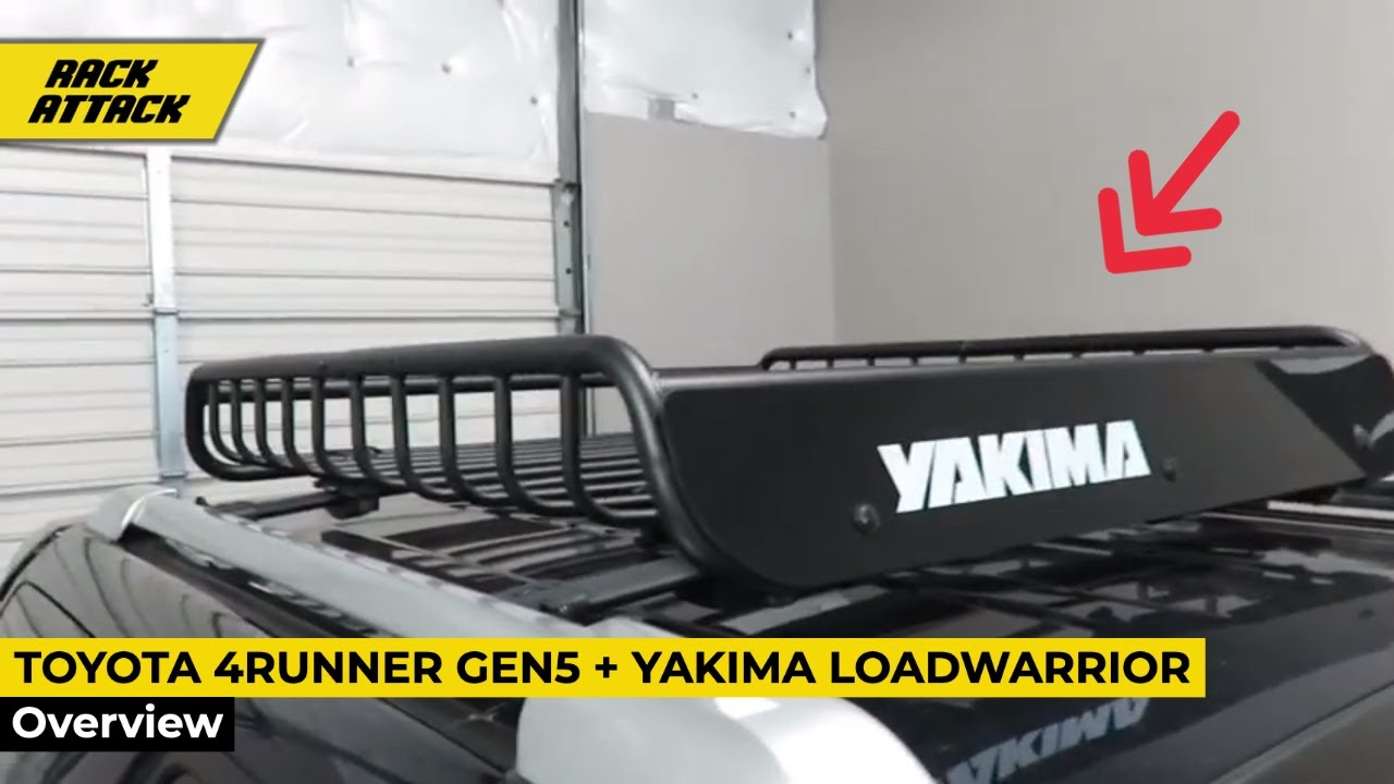 Toyota 4Runner Gen5 Outfitted With Yakima LoadWarrior Roof Rack Cargo Basket