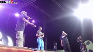 Staminia na Fid Q Fiesta Moro wakimpa Mrembo freestyle