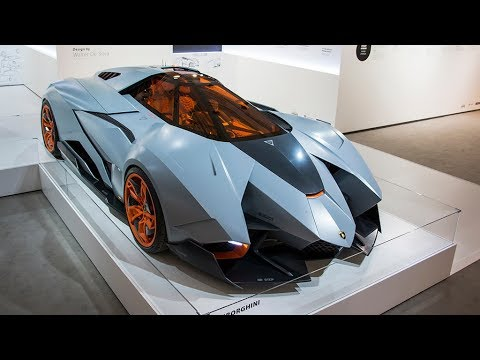 Lamborghini Egoista Door Operation Inside Details And Overview