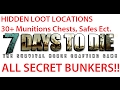 7 Days To Die Ultimate Guide to Hidden Loot Locations & ALL Secret Bunkers! 30+ Safe, Munitions Boxs