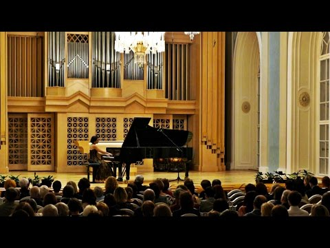ALKAN Concerto for solo piano Live by world-class concert pianist Stephanie ELBAZ
