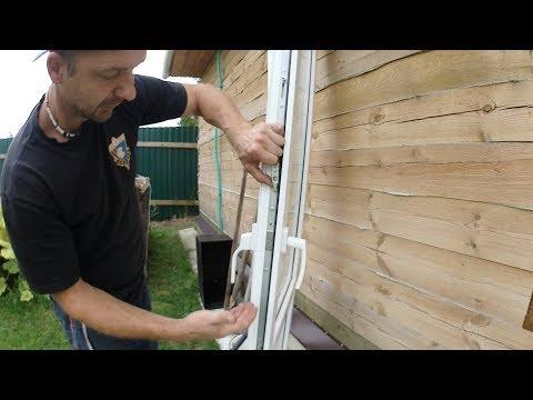 Как врезать замок в балконную пластиковую дверь