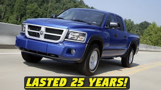 Dodge Dakota - History, Major Flaws, & Why It Got Cancelled After 25 Years! (1987-2011) - ALL 3 GENS