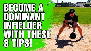 3 Simple Tips To Become A Dominant Infielder! - Baseball Fielding Tips