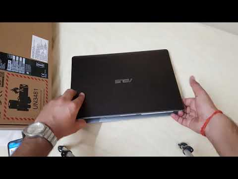 Asus VivoBook S Series Core I5 8th Gen Unboxing And Review (8 GB/ 1TB / 256 GB SSD)