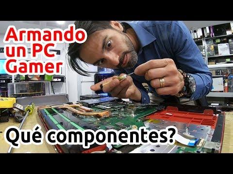Ensamble PC GAMER Desde Ceros. El GTR De Los PC.  INCREIBLE Tecnología