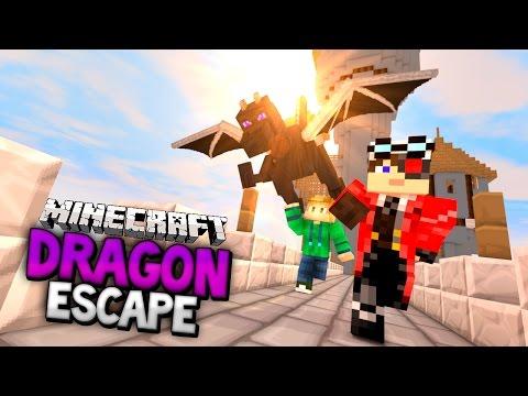 игры майнкрафт убеги от дракона