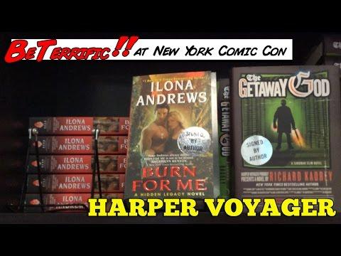 Harper Voyager Books at New York Comic Con