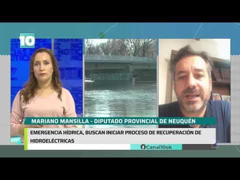 #Noticias10 | #EmergenciaHidrica: buscan iniciar el proceso de recuperación hidroeléctrica