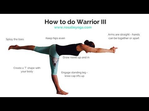 Beginners Yoga: How to do Warrior III