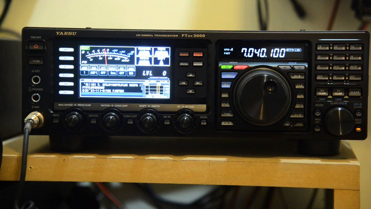 Yaesu ftdx 3000d cw decoder youtube for Ft 3000