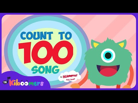 Count to 100 Song for Kindergarten | Numbers 1-100 Dance Song for Kids | 100 Dance