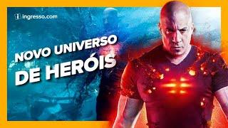 NOVO UNIVERSO DE HERÓIS |  BLOODSHOT  | CRIS E PANDA