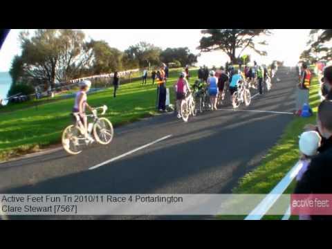Clare Stewart 7567 Active Feet Fun Tri 2010 11 Race 4 Portarlington