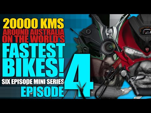 Ep4 :: Roadtrip Around Australia On Kawasaki Ninja H2 And Ducati Panigale 1299