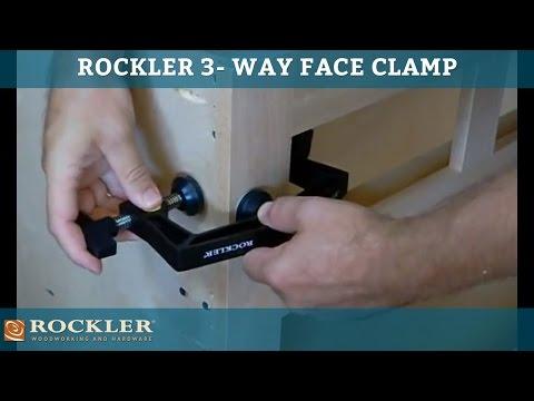 Rockler 3-Way Face Clamp