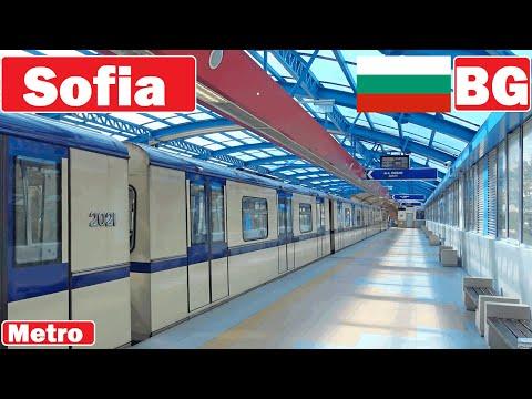 Bulgaria , Sofia metro 2020 [4K]