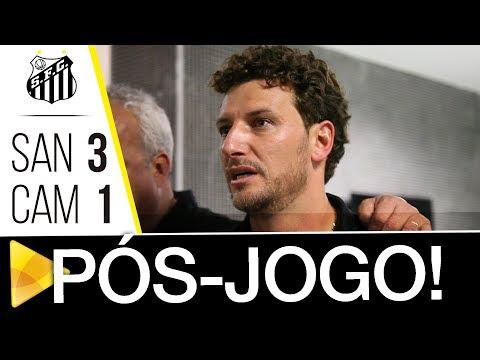 Santos 3 x 1 Atlético-MG | PÓS-JOGO | Brasileirão (04/11/17)