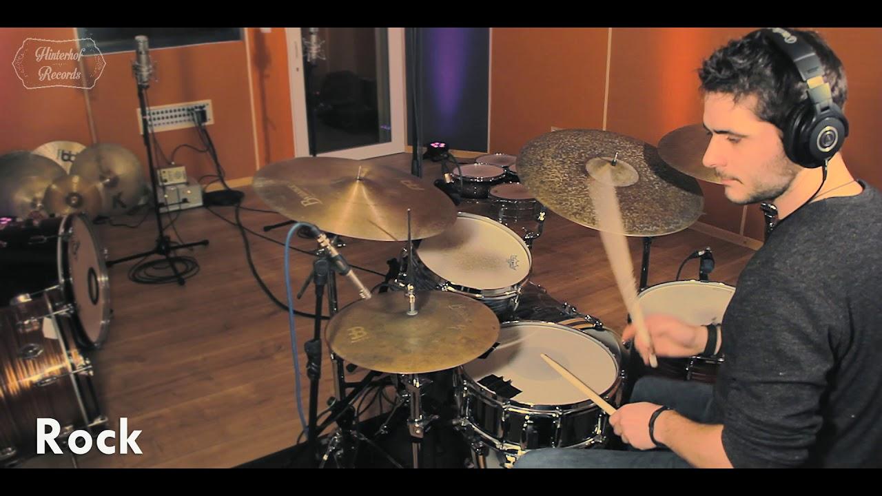 Drum Sounds At Hinterhof Records