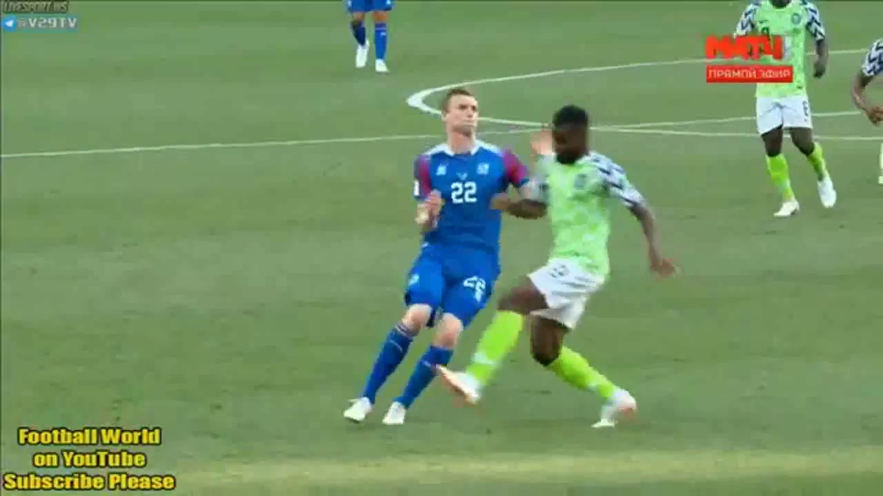 Download Nigeria vs Iceland 2- 0-All goals and highlights 2018