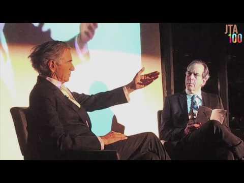 JTA's Editor in Chief Andrew Silow-Carroll interviews Bernard-Henri Lévy