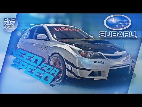 Need For Speed (2015) - ВЕСЬ ТЮНИНГ Subaru Impreza WRX STI 2010
