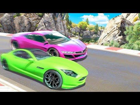 GF vs. BF on GTA 5 RACES!