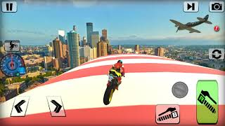 Bike impossible tracks Race  3D Motorcycle Stunts action